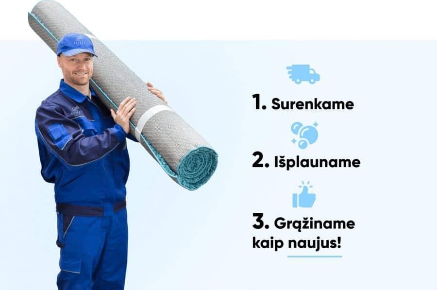 kilimų valymo paslauga